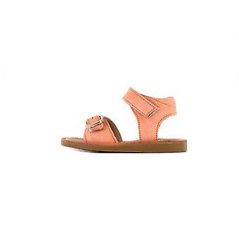 SHOESME Classic Sandal In Peach