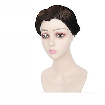 Demon Slayer Tamayo Wigs Forehead Cosplay Wig Cap Black