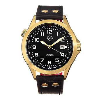 Shield Palau Quartz Black Dial Men's Watch SLDSH104-5