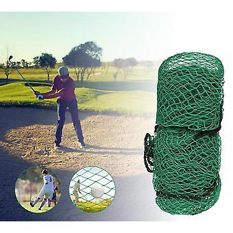 Vihreä golf harjoitusesteverkko, kestävä kestävä kestävä säänkestävä harjoitusverkko
