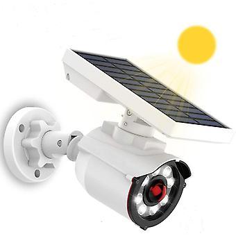 Solarleuchten fr den Auenbereich, LED Solarbetriebene weie Wandbeleuchtung an der Wand, Licht mit