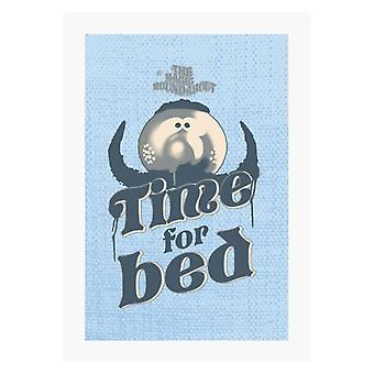 The Magic Roundabout Zebedee Time For Bed A4 Print