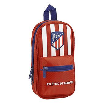 Pencil Case Backpack Atlético Madrid Red (33 Pieces)