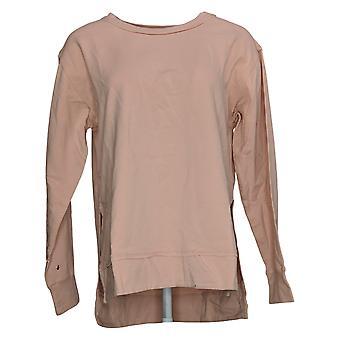 Alle Worthy Hunter McGrady Women's Sweater Pull-Over Roze A392782