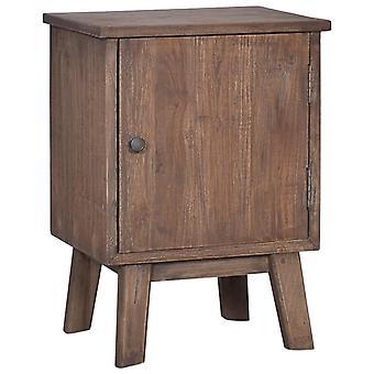 vidaXL Bedside Table 40x30x53 cm Teak Solid Wood