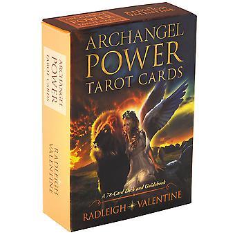 Rider Tarot Kortit Archangel Power Englanti Versio Aloittelijoiden kortti peli