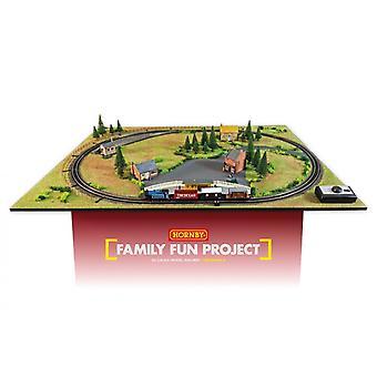 Hornby Family Fun Project Starter OO Gauge Railway Layout Set