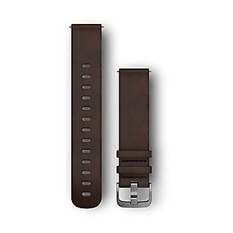 Garmin Leather bracelet Quick change bracelet, Dark Brown, L