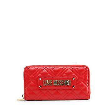 Love Moschino Pre-Collection Fall Winter 2020, Women's Wallets, Red, Normal
