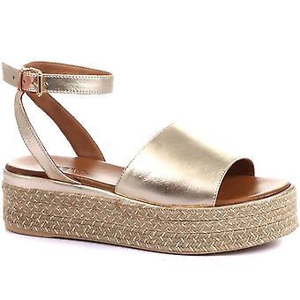 Inuovo Womens Arianna Espadrille Platform Sandals