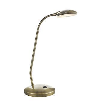 Taak taak lamp antieke messing LED