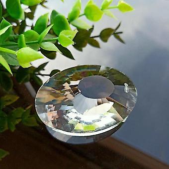 Kirkas lintujen pesä lasi auringonkatsoja kattokruunu kiteet prismat roikkuva koriste