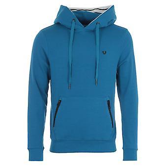 True Religion Hooded Sweatshirt - Teal Blue