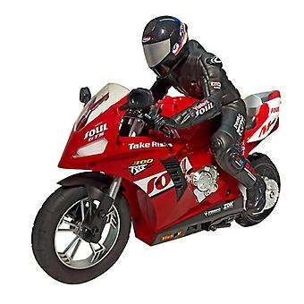 1:6 RC Remote Control Cars Motorcycle Self Balanced Stunt Toy Child Electric for Boy Gift(Red)