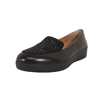 Fitflop Femmes Cristal Sneakerloafer Slip On Chaussures