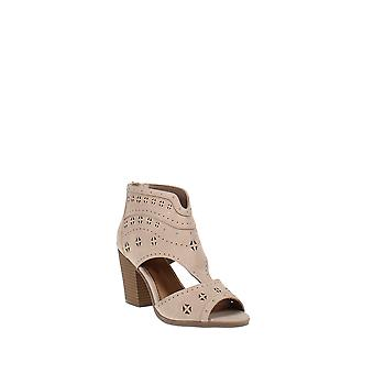 Sugar | Viveca Blush Tumbled sandal