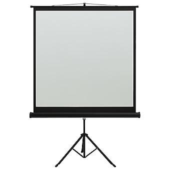 "vidaXL beamer scherm met standaard 48"" 1:1"
