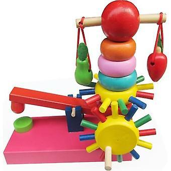 Wisdom Baby Wooden Educational Toy Rainbow Amusement Park