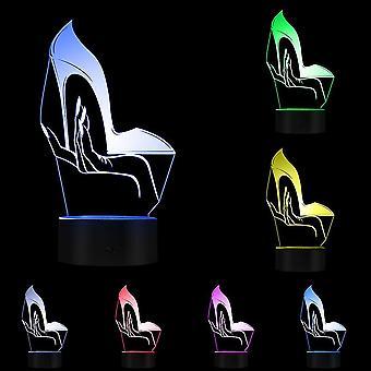 جبيرة مصباح عالية 3D أدى ليلة ضوء الأطفال مصباح طاولة غرفة النوم