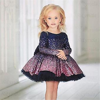 Vestidos de princesa para bebê 1-14º ano