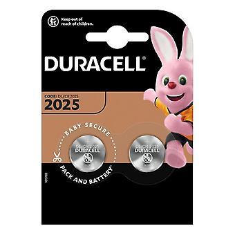 Lithium CR2025 DURACELL 3 V (2 uds)