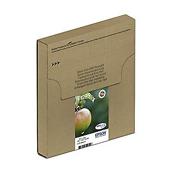 Epson T1295 Apple Genuine Multipack, Eco-Friendly Packaging, 4-colours DURABrite Ultra Ink Cartridges, Amazon Dash Replenishment Ready