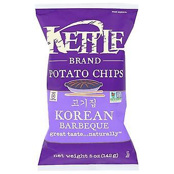 Kettle Foods Chip Korean Barbeque, Case of 15 X 5 Oz