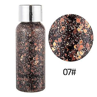 new 07 8 colors glitter shiny body painting for eye shadow gel cream face shimmer sm32305