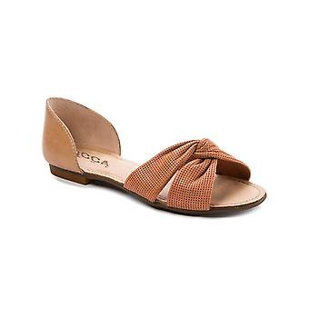 Lucca Lane Womens Darsa Flat Sandals