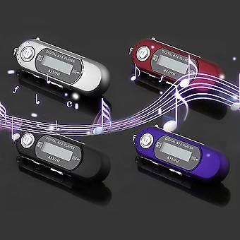 ميني Usb 2.0 فلاش محرك أقراص عالية السرعة نقل LCD عرض مشغل موسيقى MP3