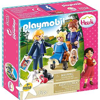 Playmobil 70258 Heidi Clara, Father and Miss Rottenmeier