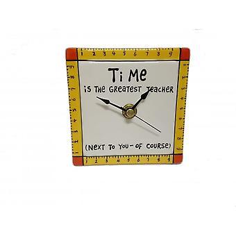 Nimemme on Mud Teacher Clock