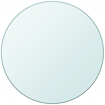 vidaXL الطاولة العلوية مصنوعة من الزجاج المقسى جولة 400 ملم
