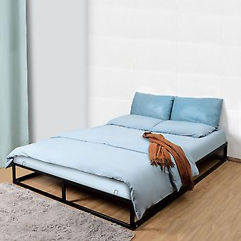 Kingsize Metal Bed Frame Square Tube