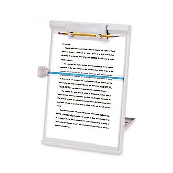 Plastic Adjustable Computer Document Holder Book Rack Stand Reading Typing Frame Bookends