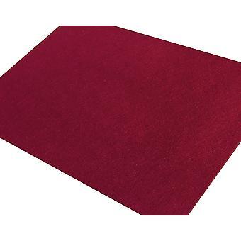 Suuri A3 viininpunainen punaviini jäykistetty huopa arkki käsityöt