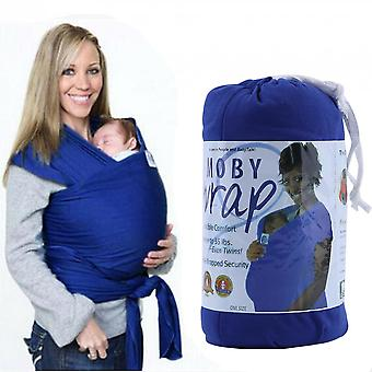 Durable Elastic Cotton Newborn Baby Carrier Wrap Solid Color Sling Wrap