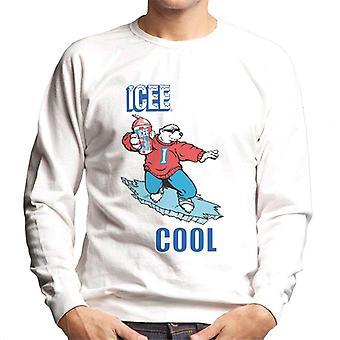 ICEE Cool Polar Bear Men's Sweatshirt