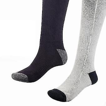Simple Style Heated Socks, Rechargeable Battery Powered Heated Socks With Temperature Controller,