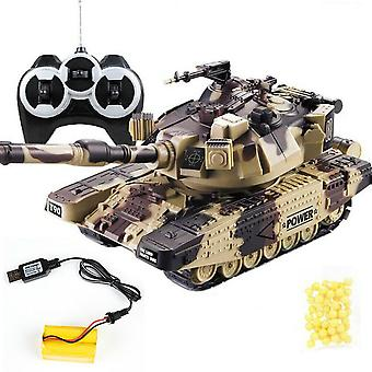 Battle Tank Heavy Large Interactive Remote Control Toy Car With Shoot Tanks