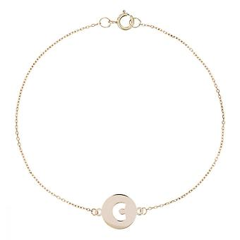 Geelgouden armband 375/1000