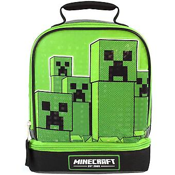 Minecraft Barn / Barn Dobbel Creeper Lunsj Bag