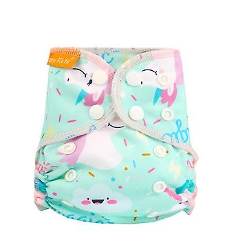 Waterproof And Reusable Organic Cotton Newborn Cloth Diapers Nappy