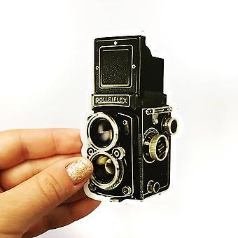 Antique Camera Vinyl Sticker