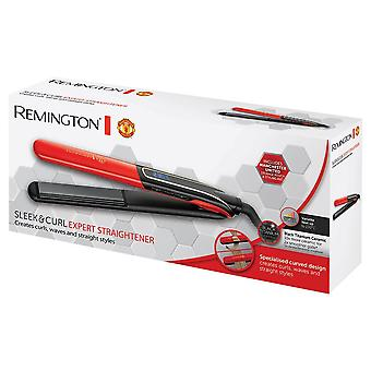 Remington S6755 Hair Straightener Iron Manchester United Special Edition