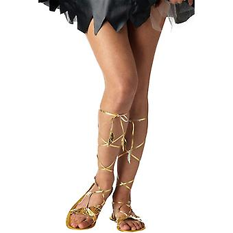 Greek Goddess Roman Egyptian Cleopatra Costume Sandals 7 - 8