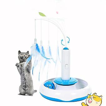 Cat toys electric interactive rotating toy multifunctional pet toys cat toys funny cat toy