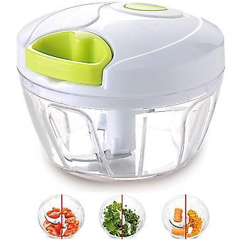 Manual Food Chopper Para Frutas Vegetales Nueces Cebollas Chopper Hand Pull