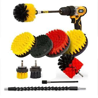 Hot Selling Electric Cleaning Brush 10 Piece Set Electric Drill Brush Wall Cleaning Brush Drill Brush