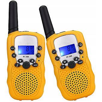 Walkie Talkies Lelut 3-12-vuotiaille, 22 kanavaa 2 Way Radio 3 Miles Range Lahjat 4-14-vuotiaille pojille Tytöt Ulkoseikkailut Hiking Camping (blu